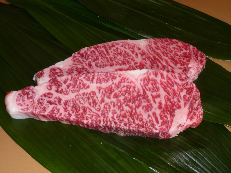 画像1: 黒毛和牛 サーロインステーキ上