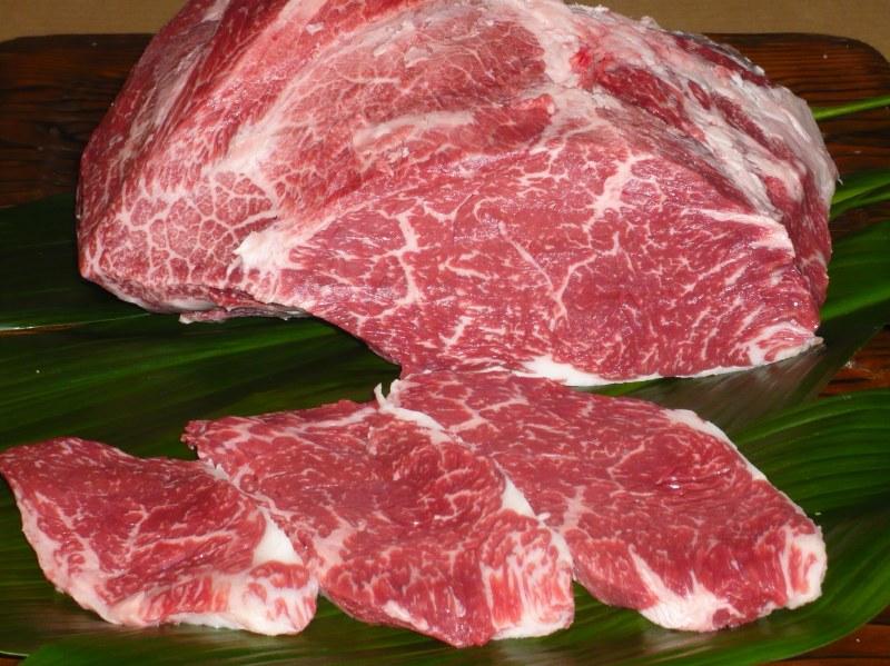 画像1: 黒毛和牛 ランプステーキ