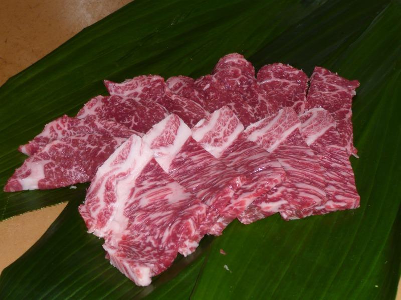 画像1: 黒毛和牛 ロース・モモ焼肉