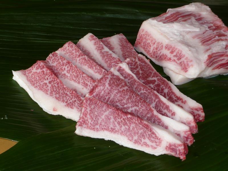 画像1: 黒毛和牛 バラ焼肉